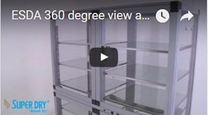 ESDA Dry storage cabinets video - watch video