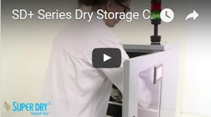 SD Plus series dry storage cabinets - watch video