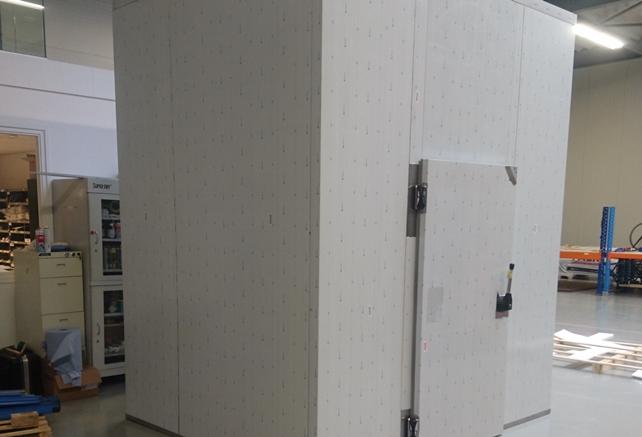 Texa custom built dry room project by Totech