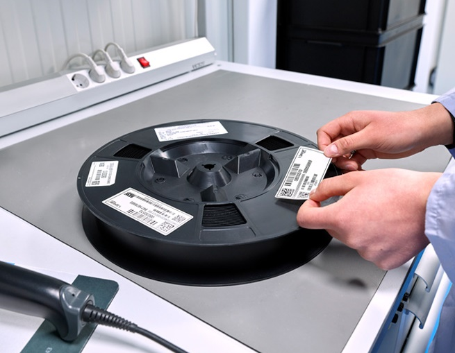 Long term storage solutions - barcode identification
