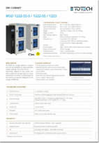 MSD Dry Cabinets datasheet download