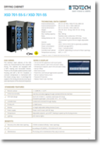 Dry Cabinets XSD 701-55 - 701-55S datasheet download